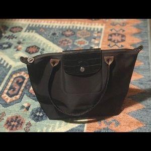 Longchamp Le Pliage Dark Brown Tote Bag